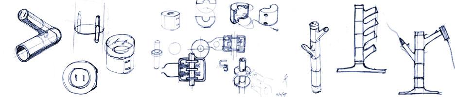 Development sketches.